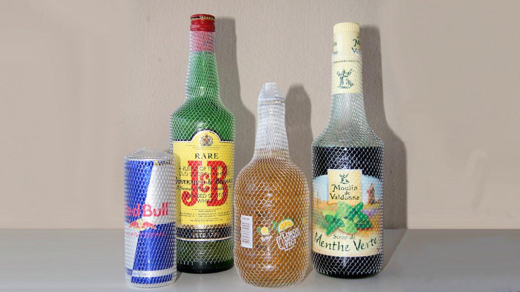Bottle - Jar - Glass Protection Nets